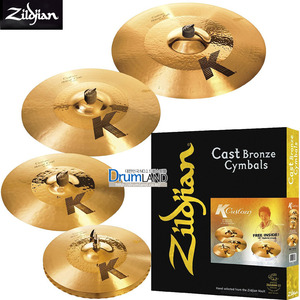 Zildjian K Custom Hybrid Performance Set / K1250(k 커스텀 세트) / 질드진 케이커스텀