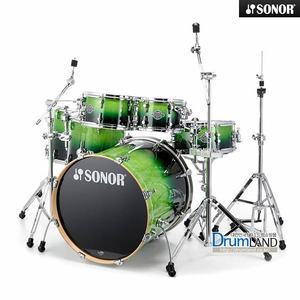 Sonor Essential 5기통 Stage3 Green Fade/ 17210421