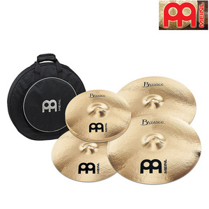 Meinl  Byzance 심벌세트 5장  Brilliant Medium  (14H,16C,18C,20R +가방포함)  BB-141620M+18MC+MCB22