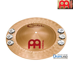 Meinl  B8 Candela Percussion  징글벨 심벌  14인치  Bronze /  CA14PJB