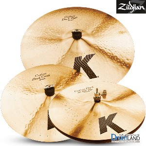 Zildjian K Custom Dark Cymbal Set (14,16,20)