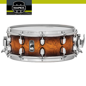 "벨브톤 (Velvetone) 9ply Maple/Walnut Hybrid Shell 14""x5.5"" MAPEX BLACK PANTHER BPMW4550CNUB"