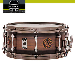 "노마드 (Nomad) 1.2mm Brass Shell 13""x6"" MAPEX BLACK PANTHER BPBR3601LNM"