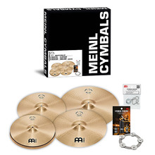 Meinl  Pure Alloy  심벌세트 5장  (PA14MH,PA16MC,PA18MC  PA20MR+CRING,MCT,BACON)  PA14161820M