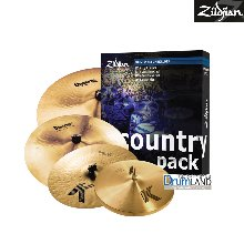 "Zildjian K Country Music Pack (15,17,19,20"") /K0801C"